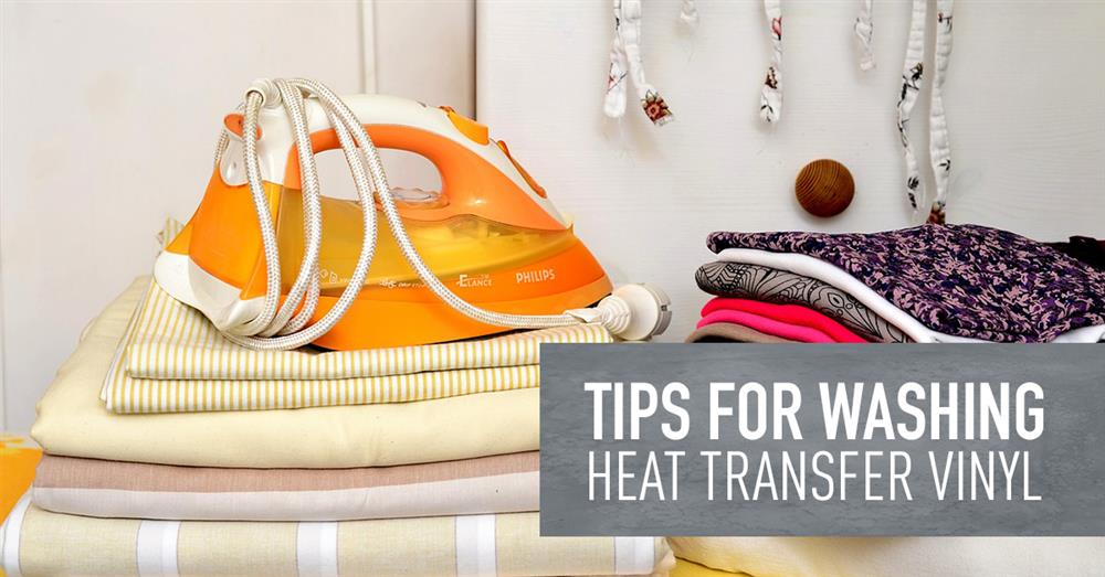 7 Tips for Washing Shirts with HTV | Heat Transfer Vinyl