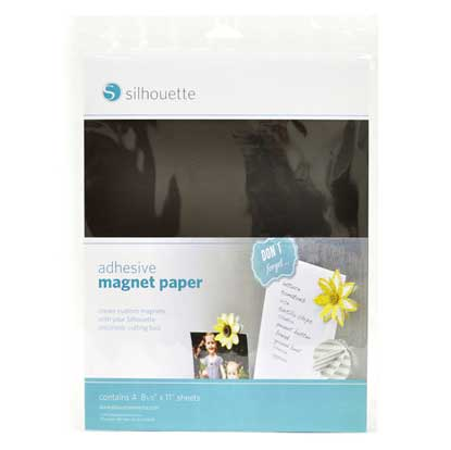"Picture of Silhouette Adhesive Magnet Paper - 8.5"" x 11"""