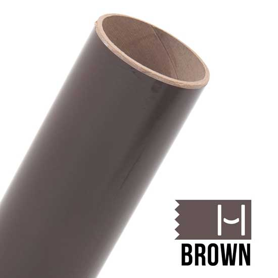Picture of Oracal 651 Glossy Adhesive Vinyl Brown - Small