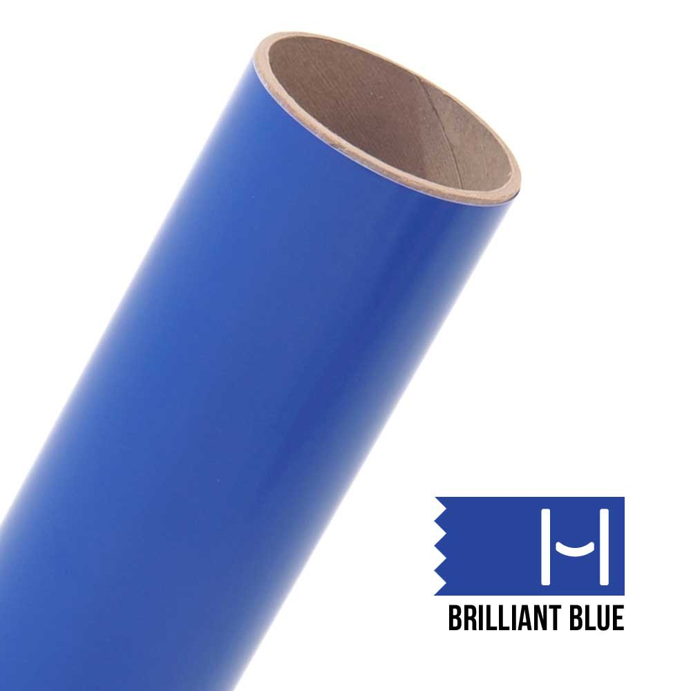 Oracal 651 Glossy Adhesive Vinyl Brilliant Blue Large