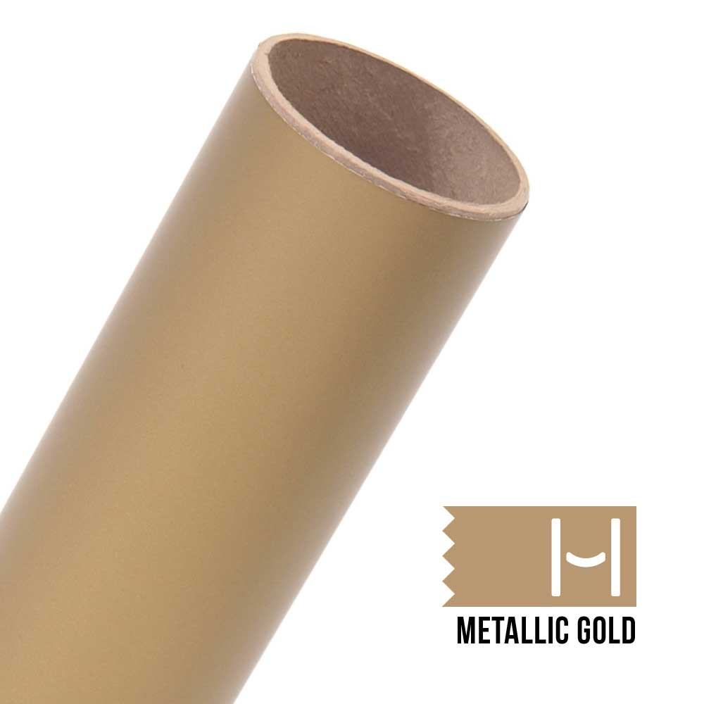 Picture of Oracal 631 Matte Adhesive Vinyl Metallic Gold - Large