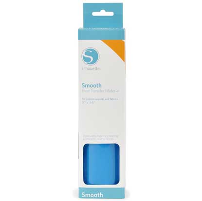 Picture of Silhouette Smooth Heat Transfer Vinyl - Blue