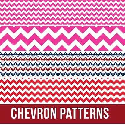 Picture of Happy Face Chevron Heat Transfer Vinyl