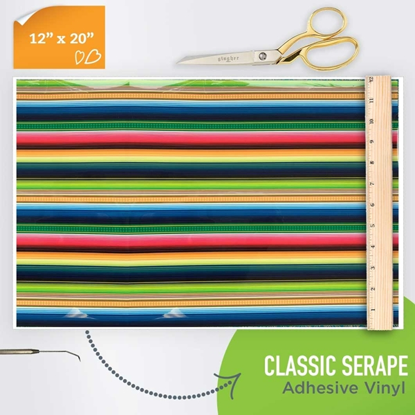 Picture of Happy Crafters Pattern Adhesive Vinyl - Classic Serape