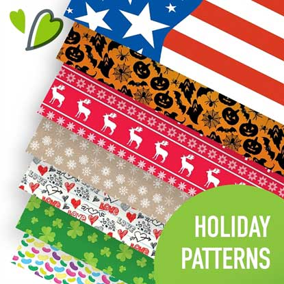Picture of Happy Crafters Holidays Heat Transfer Vinyl