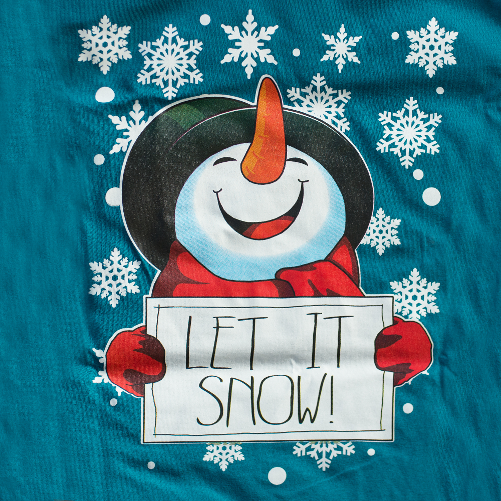 Happy Crafters Transfer Let It Snow Happy Crafters