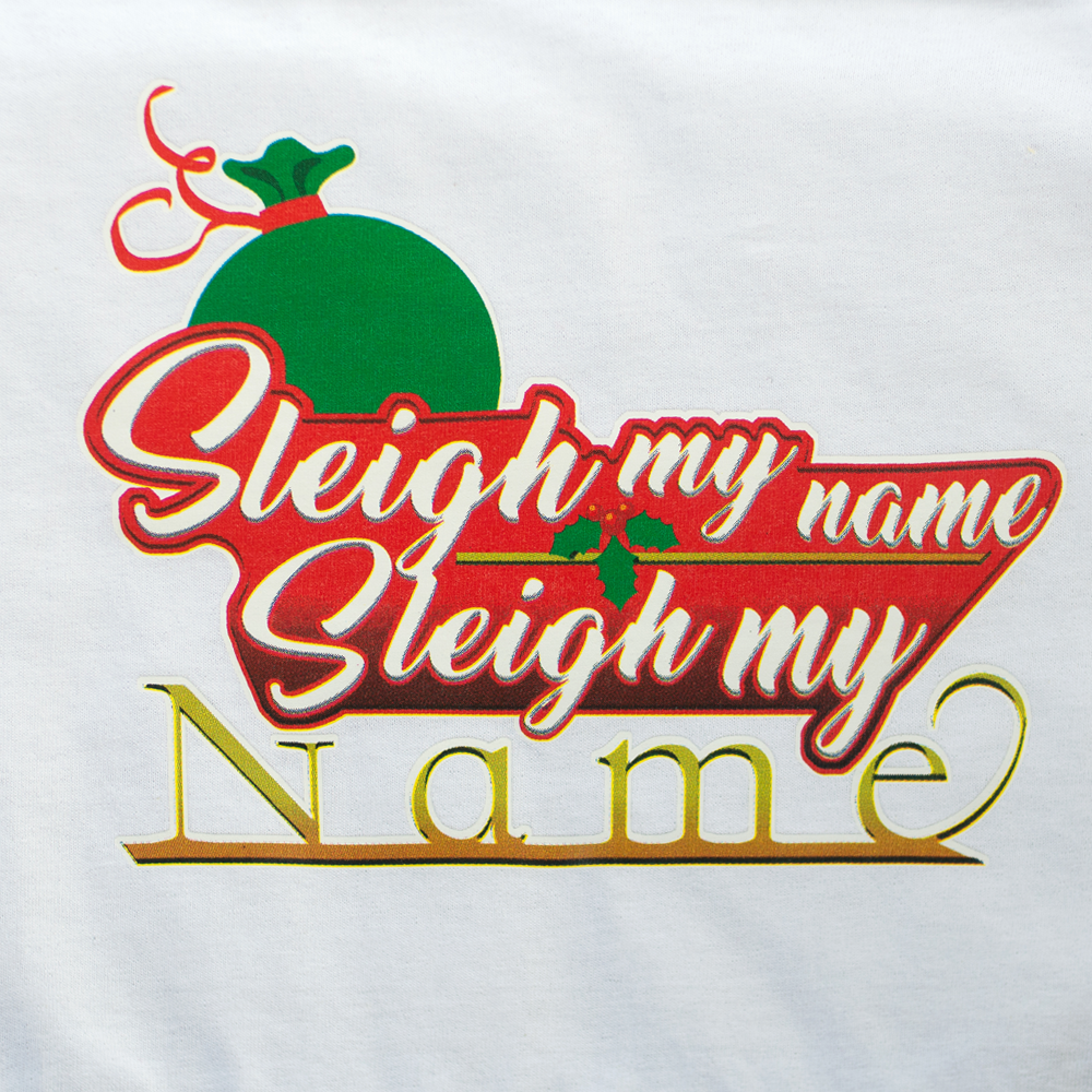 happy crafters transfer sleigh my name happy crafters