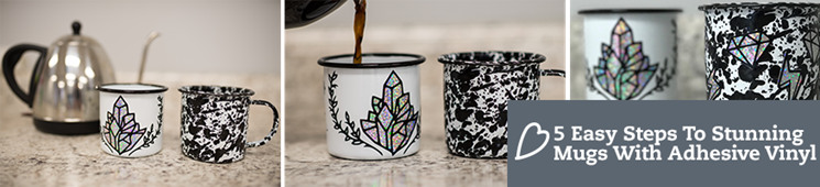 5 Easy Steps to Stunning Mugs with Adhesive Vinyl Now!