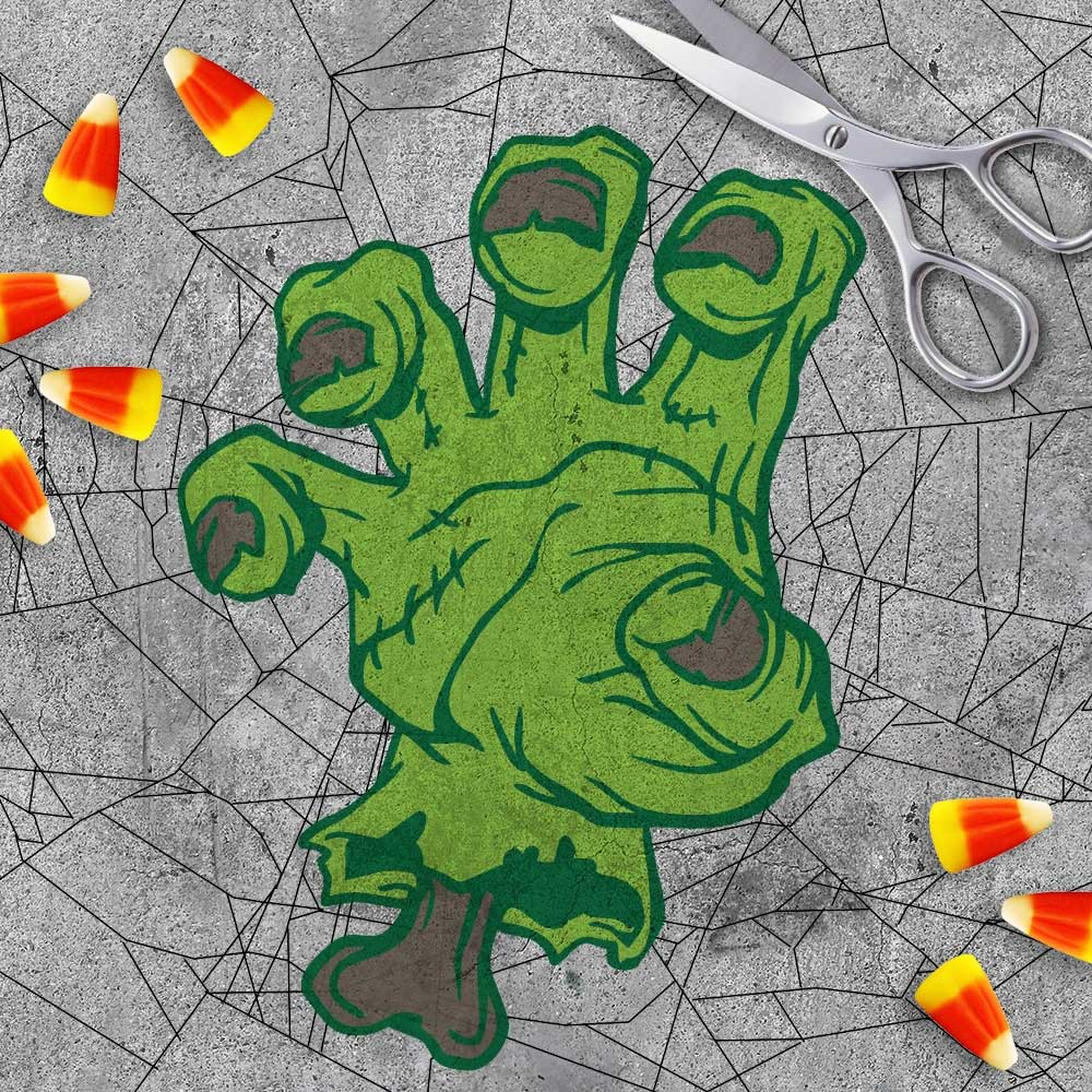 Halloween Svg Cut File Zombie Hand