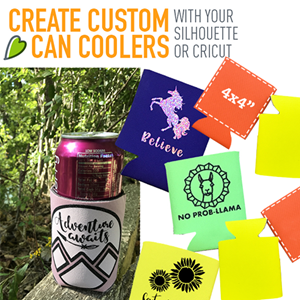 Creating Custom Can Coolers