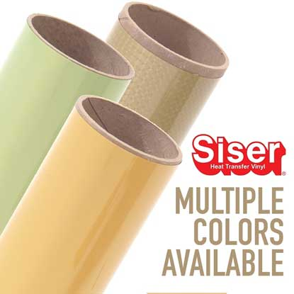 """Picture of 20"""" Siser® Easyweed® Electric Heat Transfer Vinyl Rolls"""