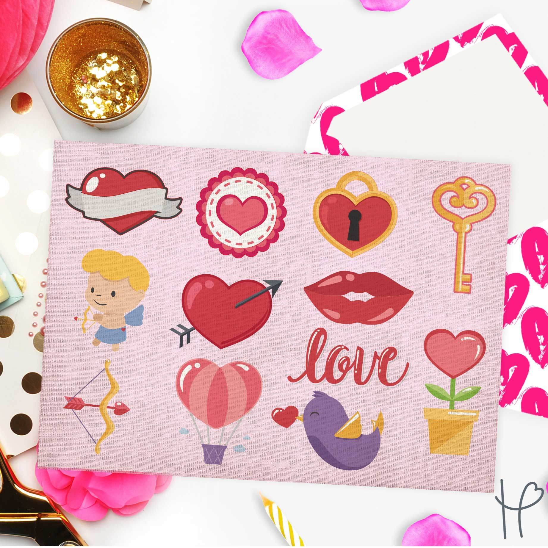 Valentine S Day Svg Cut File Bundle Happy Crafters