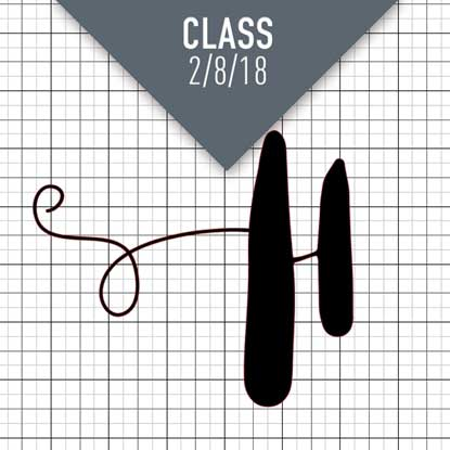 Picture of Using Glyphs in Silhouette Class | 2/8 at 1 pm EST