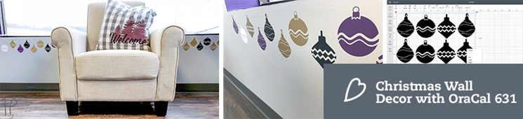 Decorating for Christmas with OraCal 631 | Removable Wall Decals
