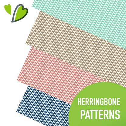 Picture of Happy Face Herringbone Adhesive Vinyl