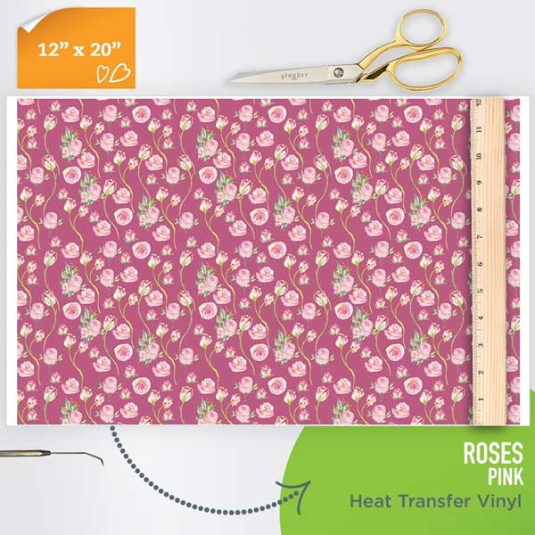 rose-pattern-htv