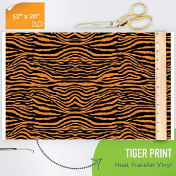 tiger-htv-pattern