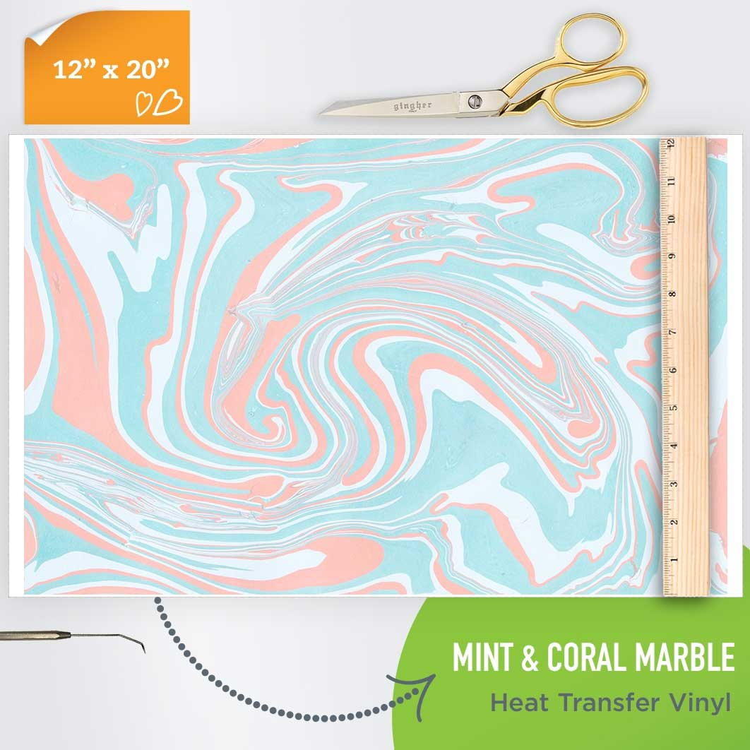 mint-coral-marble-htv-pattern