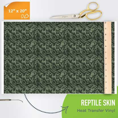 Picture of Happy Crafters Pattern HTV - Reptile Skin