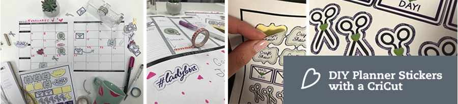How to Make Planner Stickers Using Your Cricut | Print & Cut Tutorial