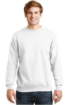 Picture of Hanes ®  - EcoSmart ®  Crewneck Sweatshirt.  P160
