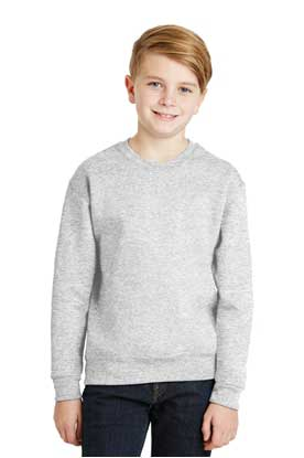 Picture of JERZEES ®  - Youth NuBlend ®  Crewneck Sweatshirt.  562B