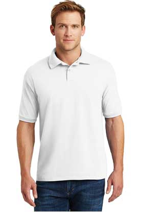 Picture of Hanes ®  EcoSmart ®  - 5.2-Ounce Jersey Knit Sport Shirt. 054X