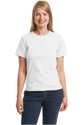 Picture of  CLOSEOUT  Hanes ®  - Ladies ComfortSoft ®  Crewneck T-Shirt.  5680