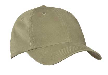 Picture of Port Authority ®  Garment-Washed Cap.  PWU