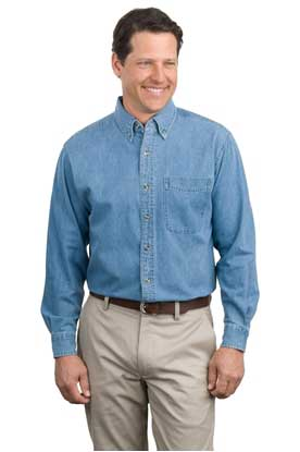 Picture of Port Authority ®  Long Sleeve Denim Shirt. S600