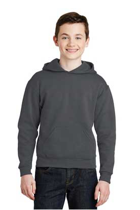 Picture of JERZEES ®  - Youth NuBlend ®  Pullover Hooded Sweatshirt.  996Y