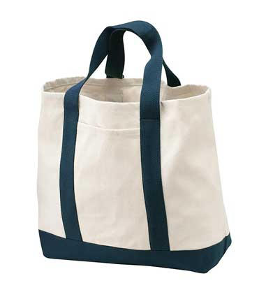 Picture of Port Authority ®  - Two-Tone Shopping Tote.  B400