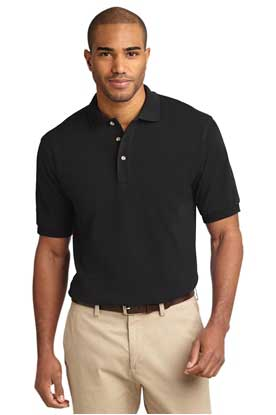 Picture of Port Authority ®  Heavyweight Cotton Pique Polo.  K420