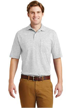 Picture of JERZEES ®  -SpotShield ™  5.6-Ounce Jersey Knit Sport Shirt with Pocket. 436MP