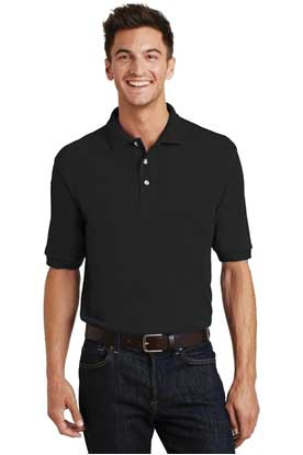 Picture of Port Authority ®  Heavyweight Cotton Pique Polo with Pocket.  K420P