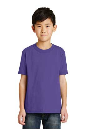 Picture of Port & Company ®  - Youth Core Blend Tee.  PC55Y