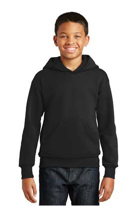 Picture of Hanes ®  - Youth EcoSmart ®  Pullover Hooded Sweatshirt.  P470