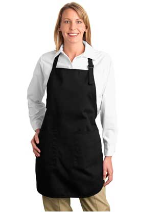Picture of Port Authority ®  Full-Length Apron with Pockets.  A500