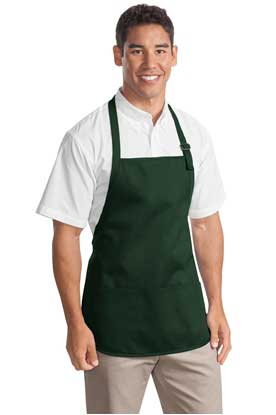 Picture of Port Authority ®  Medium-Length Apron with Pouch Pockets.  A510