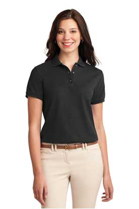 Picture of Port Authority ®  Ladies Silk Touch™ Polo.  L500