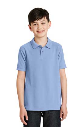 Picture of Port Authority ®  Youth Silk Touch™ Polo.  Y500