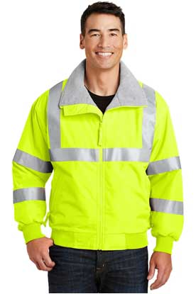 Picture of Port Authority ®  Enhanced Visibility Challenger™ Jacket with Reflective Taping.  SRJ754
