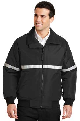 Picture of Port Authority ®  Challenger™ Jacket with Reflective Taping.  J754R