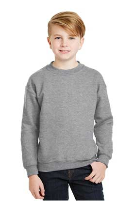 Picture of Gildan ®  - Youth Heavy Blend™ Crewneck Sweatshirt.  18000B