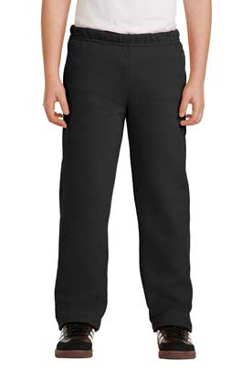 Picture of Gildan ®  Youth Heavy Blend ™  Open Bottom Sweatpant. 18400B