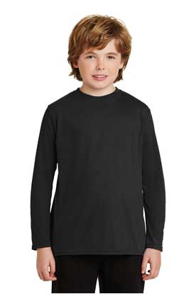 Picture of Gildan ®  Youth Gildan Performance ®  Long Sleeve T-Shirt. 42400B
