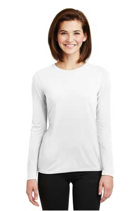 Picture of Gildan ®  Ladies Gildan Performance ®  Long Sleeve T-Shirt. 42400L