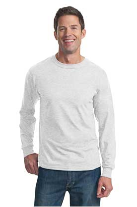 Picture of Fruit of the Loom ®  HD Cotton ™  100% Cotton Long Sleeve T-Shirt. 4930
