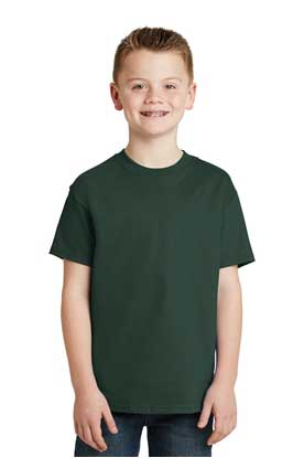 Picture of Hanes ®  - Youth Tagless ®  100%  Cotton T-Shirt.  5450