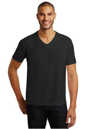 Picture of Anvil ®  Tri-Blend V-Neck Tee. 6752